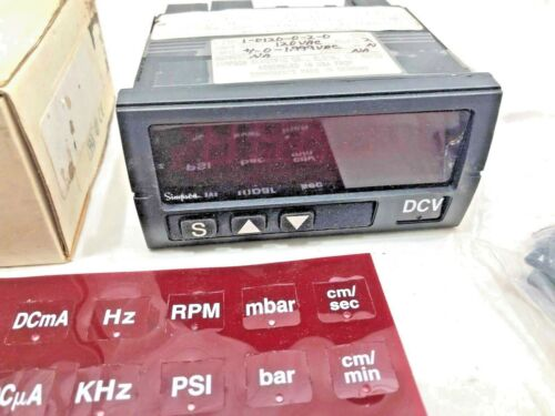 Simpson Panel Meter H235-1-0120-0-2-0 -120VAC- Input 0-1.999 VAC- 4 digit