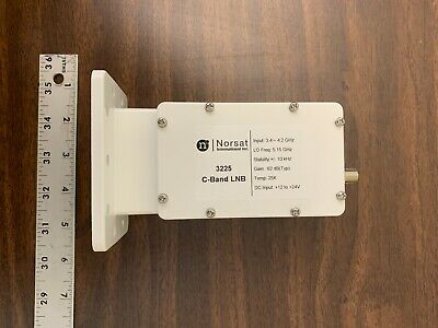 Norsat 3225 C-band Pll High Stability Lnb F Or N Type Connector Input 3000 Serie