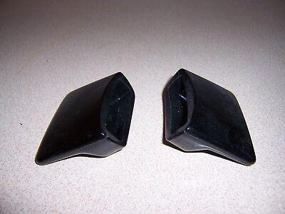 2 BLACK BAKELIGHT SMALL KITCHEN APPLIANCE HANDLES - UNUSED