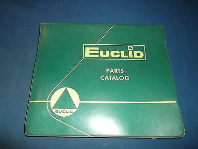 Euclid 34-ldt Dump Truck Parts Book Manual