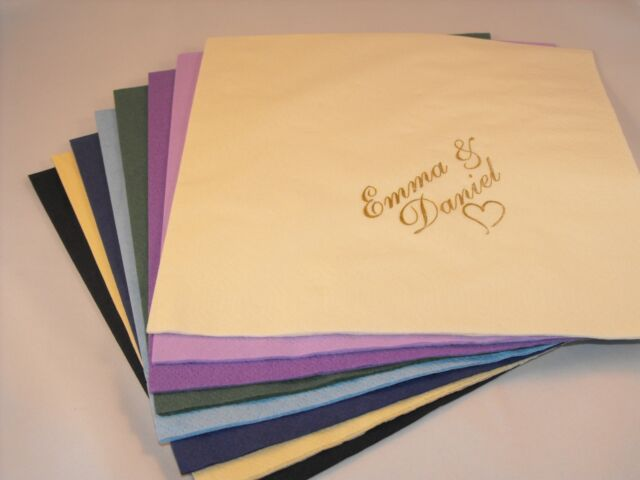 200 X Personalised design Your Own Image Luxury 3 Ply Wedding