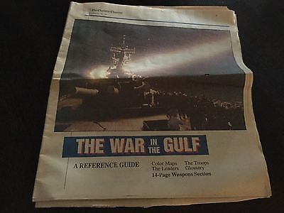 The Charlotte Observer  The War In The Gulf  Reference Guide February 12  1991