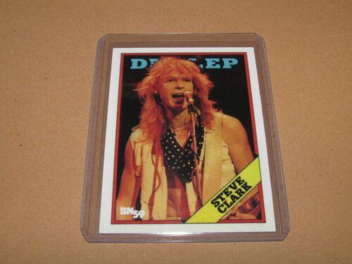 STEVE CLARK DEF LEPPARD ROCK TRADING CARD #398