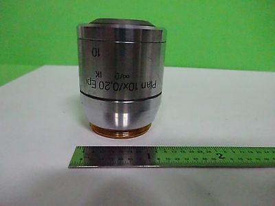 Microscope Polyvar Reichert Leica Objective Plan 10x Epi Dic Optics Binw3-08