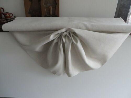 LINEN Fabric Antique vintage 11,48 x 0,86 YARDS organic