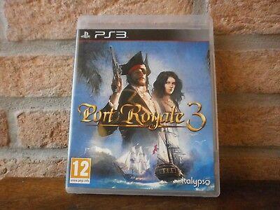 Jeu PS3 vidéo Blu-ray Disc PORT ROYALE 3  pour Playstation 3
