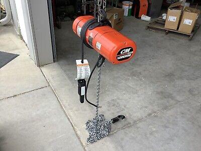 Cm Lodestar Electric Chain Hoist Model B 14 Ton 16 Fpm 3 Phase