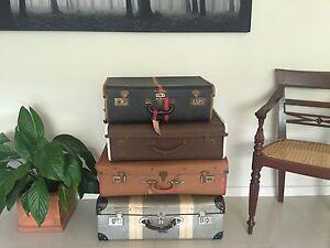 Vintage suitcases (4) Dubbo Dubbo Area Preview