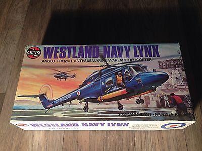 1/72 AIRFIX WESTLAND NAVY LYNX OPEN 03024-5