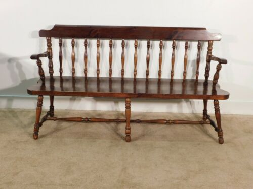 ANTIQUE Ethan Allen Tavern Collection Deacon