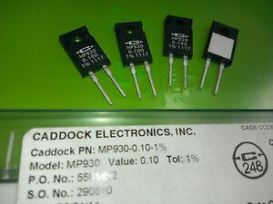 [4pcs] Caddock MP930 0.1Ohm 1% 30W Film Resistors non inductive - <span itemprop='availableAtOrFrom'>Warszawa, mazowieckie, Polska</span> - Zwroty są przyjmowane - Warszawa, mazowieckie, Polska