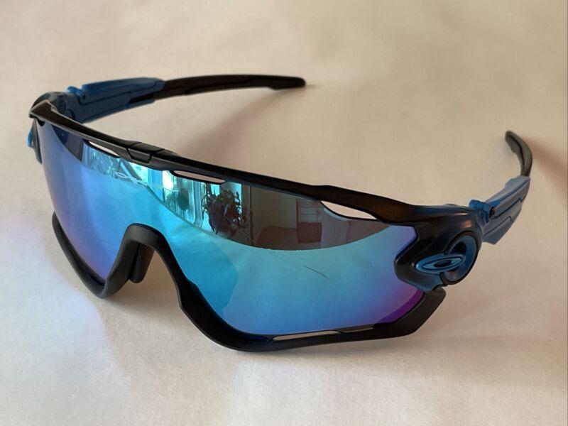 Oakley Jawbreaker Sapphire Fade Frame Sapphire Iridium Lens Sunglasses