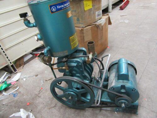 Kinney high vacuum pump ks-15 115/230v 1 phase 3/4hp [WHSE]