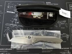 Spyderco C238TIP Rassenti Paysan Integral Frame Lock Knife 3.8 S90V Blade