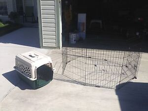 Dog crate & exercise pen