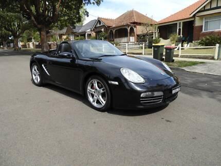 2008 Porsche Boxster s Convertable black on black manual Homebush West Strathfield Area Preview