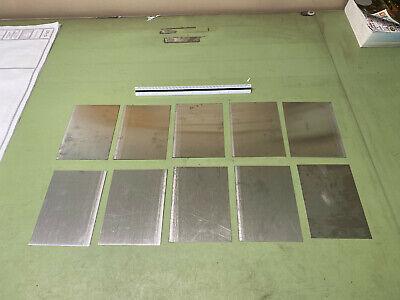 22 Gauge Stainless Steel Sheet Metal Scrap Hho Migtig  10 Pcs