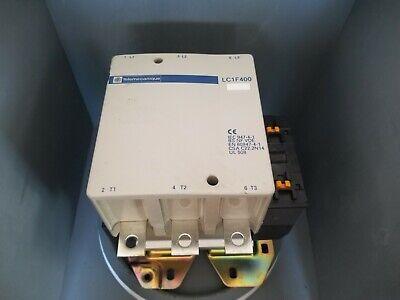 Telemecanique Contactor 600vac 420a Cont 3ph Lc1f400