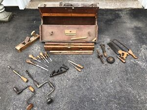 Cabinet makers tools & chest