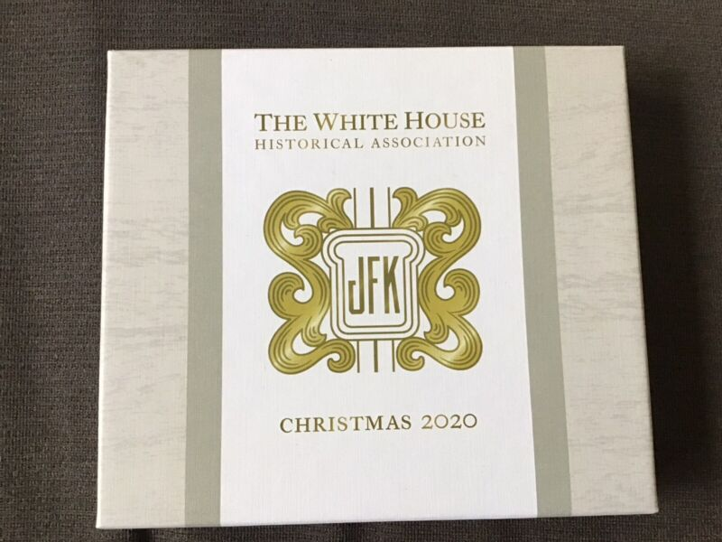 2020 White House Historical Association Christmas Ornament John F. Kennedy