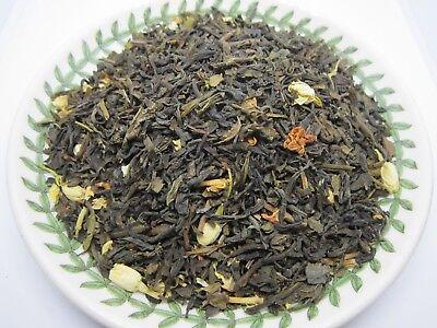 Blended Sampler Tea - Jasmine Green Tea - 1 oz (28g) Sampler Size - Loose Leaf Blend, SHIP from USA