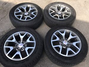 2017 GMC Chevrolet wheels and tires. NEW!!