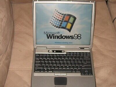 Dell Latitude D600 Laptop Windows 98, 1.6GHz, 40GB HD , 14