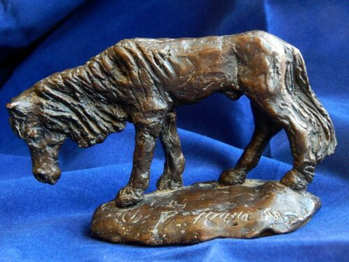 """Original Ted DeGrazia 1963 Bronze """"Indian Horse"""" Signed & Numbered~6 of 25 Casts"""