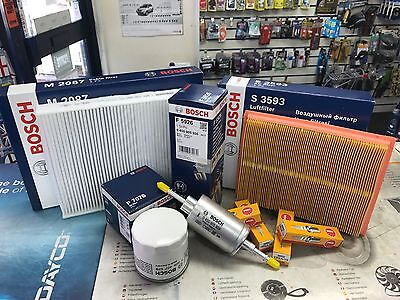 SERVICE KIT FORD FIESTA 1.2, 1.4, 1.6, 1.8 M6/M7 FILTERS PLUGS BOSCH OE QUALITY