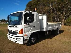 2010 HINO FD TIPPER EX GOVERNMENT TRUCK Albion Park Rail Shellharbour Area Preview