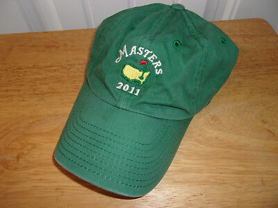 e8faaba01d447f Masters Augusta National 2011 Golf Hat Cap Free Shipping!
