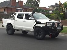 2006 Toyota Hilux turbo diesel 4x4 Coburg Moreland Area Preview