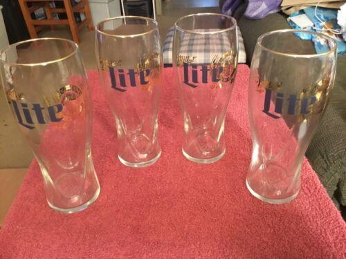 Miller Lite Beer Glasses