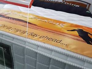 STOCK CLEARANCE!! NEW PILOW TOP MATTRESSES ON SALE TOP WA MADE!! West Perth Perth City Area Preview