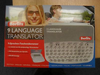 Berlitz 9 Language Translator