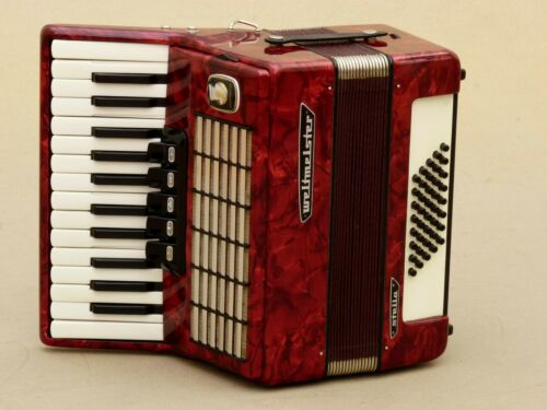 Very Nice Accordion Weltmeister Stella 40 bass including case .