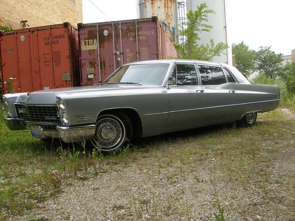 67 CADDY - Seats 9 - Huge Fins - Luxury - Chrome! | Classic Cars ...