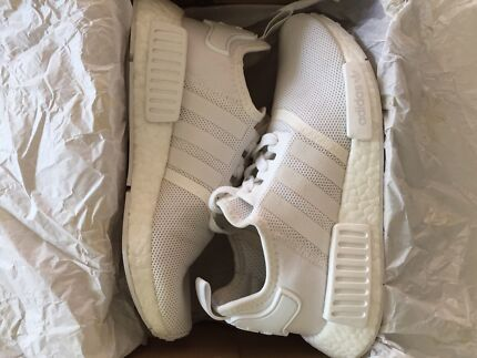 Women's Adidas Nmd R1 Triple White