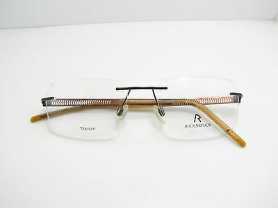 New Eyeglasses Frame Rodenstock Men Authentic  Brown R2114 S3D  Free Shipping