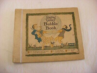 Victor Talking Machine Phonograph Company - The Animal Bubble Book No Records Victor Talking Machine Company