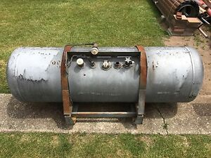 Gas tank. Ideal for BBQ or spit roast. MAKE AN OFFER Hadspen Meander Valley Preview