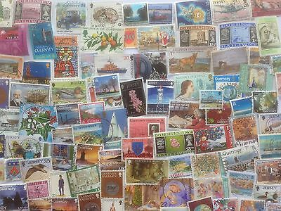 2000 Different Channel Islands Stamp Collection