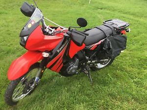 SOLD !!!2009 Kawasaki KLR 650 ! LOW KMs with extras!