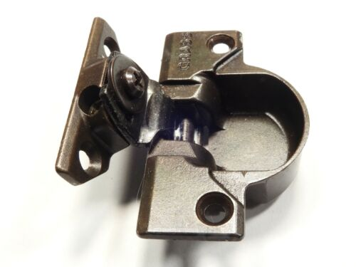 Grass 830-09 Bronze Hinge and mounting plate - Complete Hinge