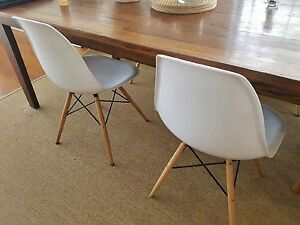 Replica  EAMES Dining chairs Saratoga Gosford Area Preview
