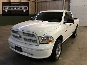 "2010 Dodge Ram 1500, 4x4, 2.5"" Level, 20"" chrome wheels!"