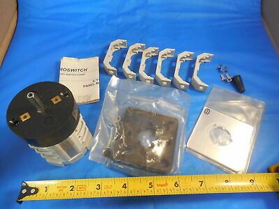 Electroswitch Corp Rotary Kw25-2203c4 For Clausing Milling Machine In Box
