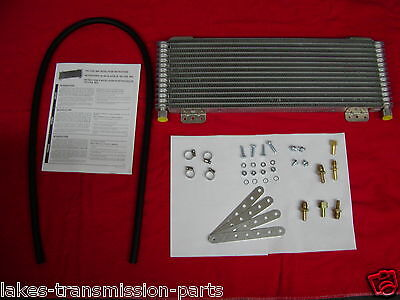Tru-Cool Max 40,000 GVW Transmission Oil Cooler LPD OC-4739-1 Low Pressure Drop
