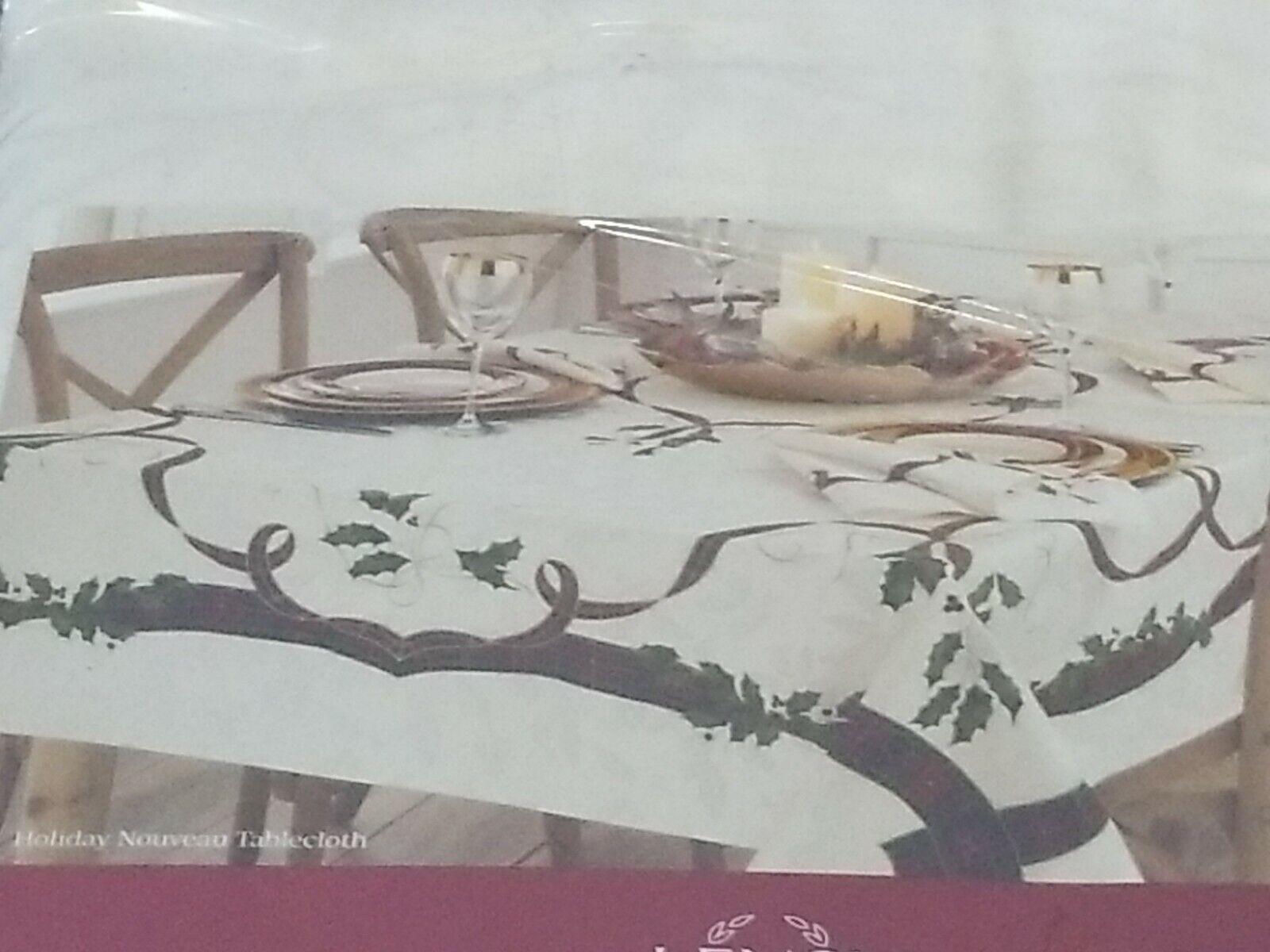 "Lenox Holiday Nouveau 60"" X 140"" Tablecloth T4102434"