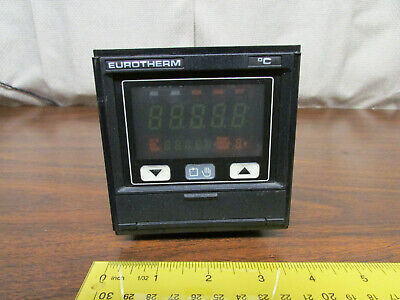 Eurotherm 818p4 Temperature Controller Digital Display With Sled